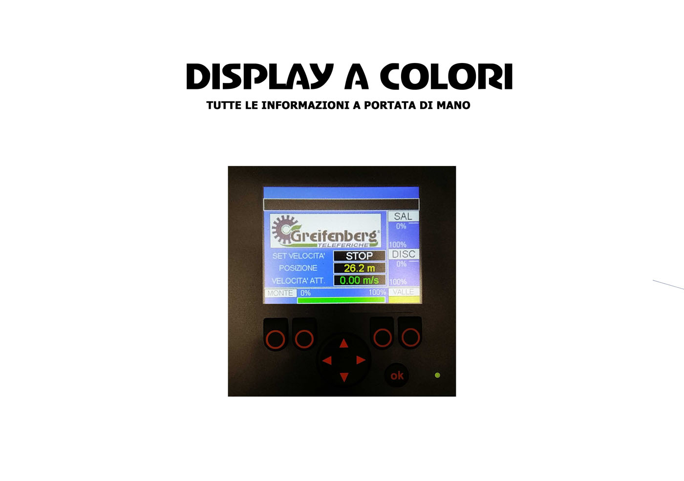 Display a colori